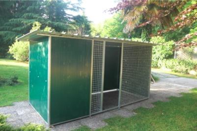 Vendita box per cani lombardia varese liguria piemonte for Box per cani da esterno usati