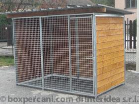 Vendita box per cani lombardia varese liguria piemonte for Recinto in legno per cani