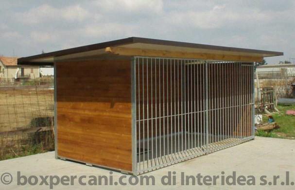 Vendita box per cani lombardia varese liguria piemonte for Box per cani in muratura